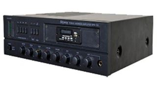 Picture of Amplifier 120 Watt  SKYWAY -  3 Zones 4 Microphone Output doing Chime