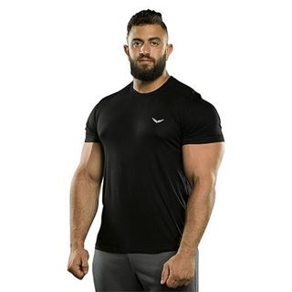 Picture of BLACK FLEXY-FIT T-SHIRT