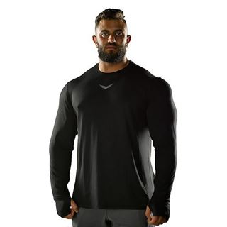 Picture of BLACK FLEXY-FIT LONG SLEEVE