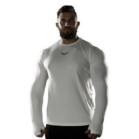 Picture of WHITE FLEXY-FIT LONG SLEEVE