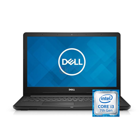الصورة: Dell Inspiron 3567 Intel Core I3-7020U Ram 4GB H.D 1TB