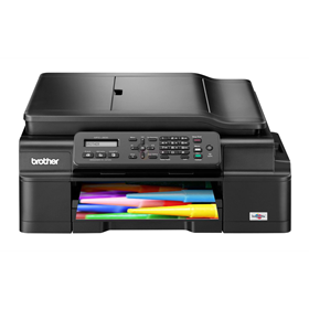 الصورة: Brother MFC-J200 Color InkBenefit MultiFunction Center (Print, Scan, Copy, Fax, Wireless, Mobile Print)
