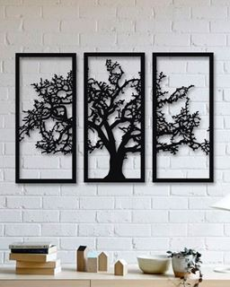 Picture of Wood Tree 3 Pieces