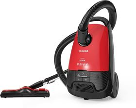 Picture of TOSHIBA VC-EA1800SE Vacuum Cleaner - Red Black, 1800 Watt