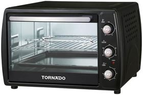 Picture of TORNADO Electric Oven 1800 Watt and 45 litre with Grill and Fan in Black Color