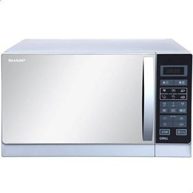 Picture of Sharp R-750MR(S) Microwave 25 Liter with Grill, 900 Watt - Silver