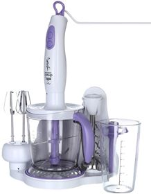 Picture of Kumtel GR2600 Hand Blender 8 In 1- Purple, 400 Watt