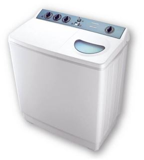 Picture of Toshiba VH-1210S Top Load Half Automatic Washing Machine - 12 Kg, White