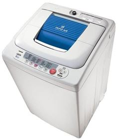 Picture of Toshiba AEW-8460SP Top Load Automatic Washing Machine - 8 Kg, White