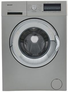 Picture of Sharp ES-FP710BX3-S Washing Machine Fully Automatic-Silver, 7Kg