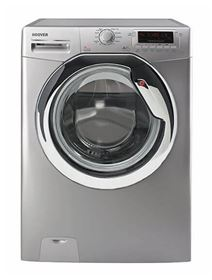 Picture of Hoover DYN7125DS2-EGY Front Load Fully Automatic Washing Machine - 7 Kg, Silver